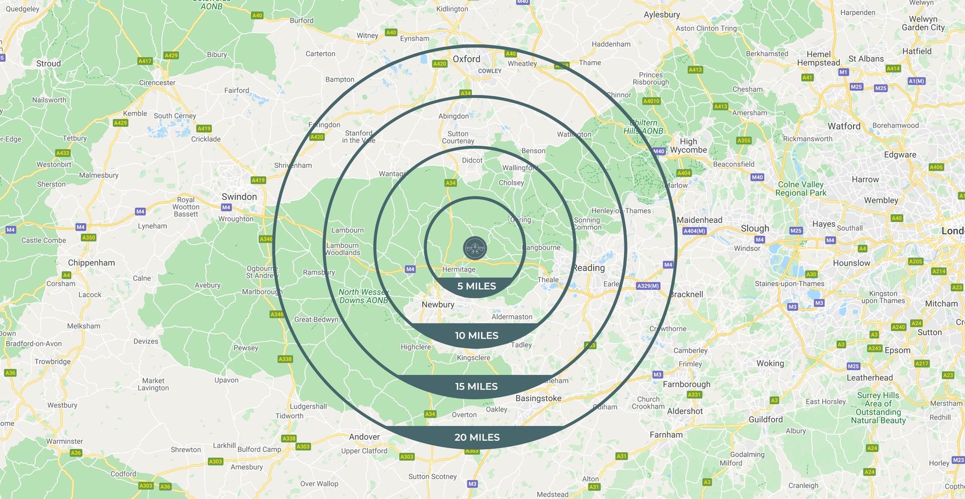 good life hub map